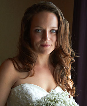 Acclaim wedding photo portrait of bride